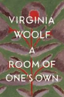 Cover image for A room of one's own