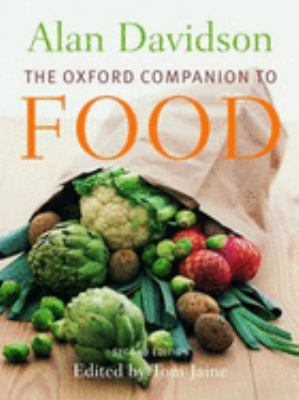Cover image for The Oxford companion to food