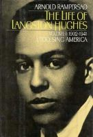 Cover image for The life of Langston Hughes