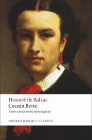 Cover image for Cousin Bette