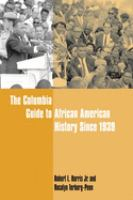 Cover image for The Columbia guide to African American history since 1939