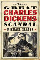 Cover image for The great Charles Dickens scandal