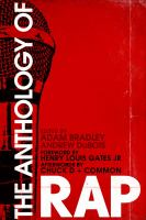 Cover image for The anthology of rap