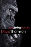 Cover image for Why acting matters
