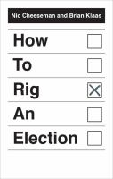 Cover image for How to rig an election
