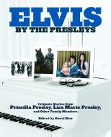 Cover image for Elvis by the Presleys