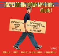 Cover image for Encyclopedia Brown mysteries. Vol. 1