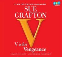 "Cover image for ""V"" is for vengeance"