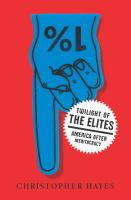 Cover image for Twilight of the elites : America after meritocracy
