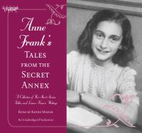 Cover image for Anne Frank's Tales from the secret annex