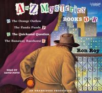 Cover image for A to Z mysteries. Books O-R