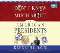 Cover image for Don't know much about the American presidents