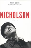Cover image for Nicholson : a biography