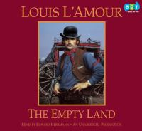 Cover image for The empty land