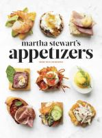 Cover image for Martha Stewart's appetizers