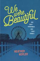 Cover image for We were beautiful