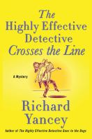 Cover image for The highly effective detective crosses the line