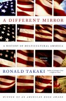 Cover image for A different mirror : a history of multicultural America
