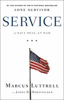 Cover image for Service : a Navy SEAL at war