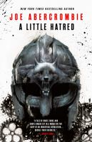 Cover image for A little hatred