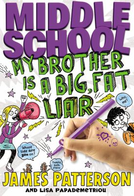 Cover image for My brother is a big, fat liar