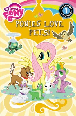 Cover image for Ponies love pets!