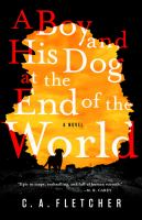 Cover image for A boy and his dog at the end of the world : a novel