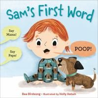 Cover image for Sam's first word