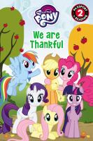 Cover image for We are thankful