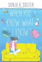 Cover image for When you know what I know