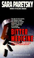 Cover image for Bitter medicine