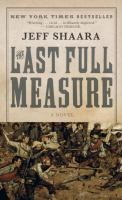 Cover image for The last full measure