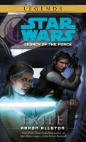Cover image for Star wars : legacy of the force : exile
