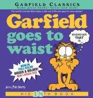 Cover image for Garfield goes to waist