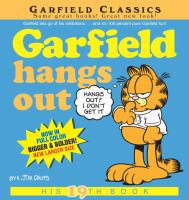 Cover image for Garfield hangs out