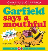 Cover image for Garfield says a mouthful