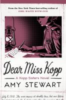 Cover image for Dear Miss Kopp