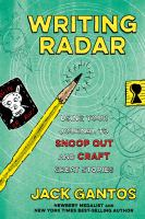 Cover image for Writing radar : using your journal to snoop out and craft great stories