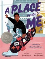 Cover image for A place inside of me : a poem to heal the heart