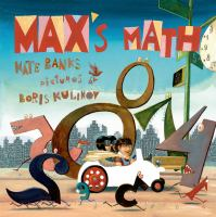Cover image for Max's math