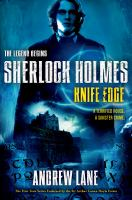 Cover image for Knife edge