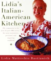 Cover image for Lidia's Italian-American kitchen