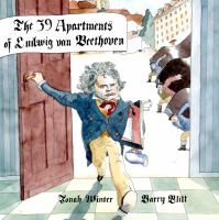 Cover image for The 39 apartments of Ludwig van Beethoven