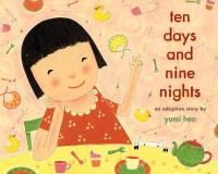 Cover image for Ten days and nine nights : an adoption story