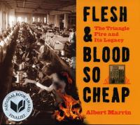 Cover image for Flesh & blood so cheap : the Triangle fire and its legacy
