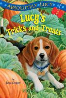 Cover image for Lucy's tricks and treats