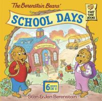 Cover image for Berenstain Bears' school days