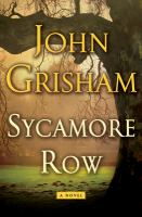 Cover image for Sycamore Row