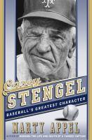 Cover image for Casey Stengel : baseball's greatest character