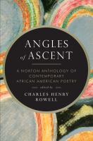 Cover image for Angles of ascent : a Norton anthology of contemporary African American poetry